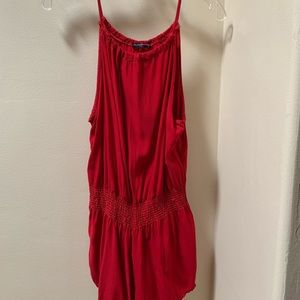 Brandy Melville red romper